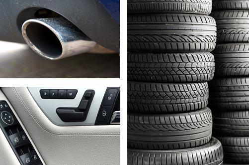 équipements automobiles