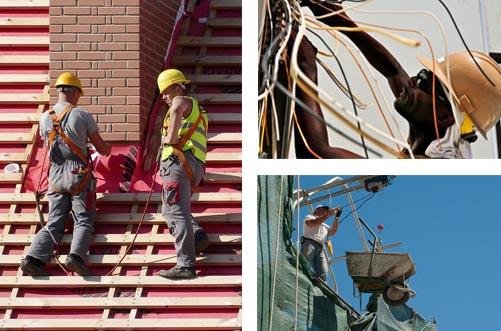 Métiers du bâtiment et travaux publics