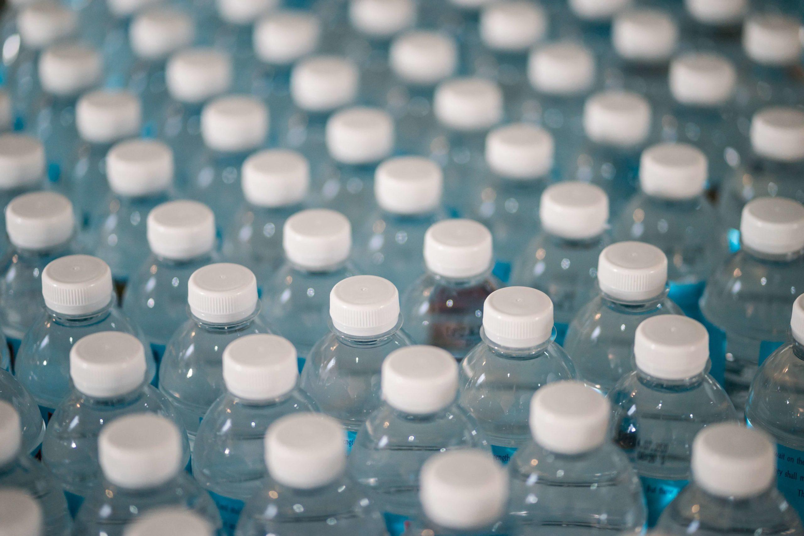 bouteille plastique en PETE