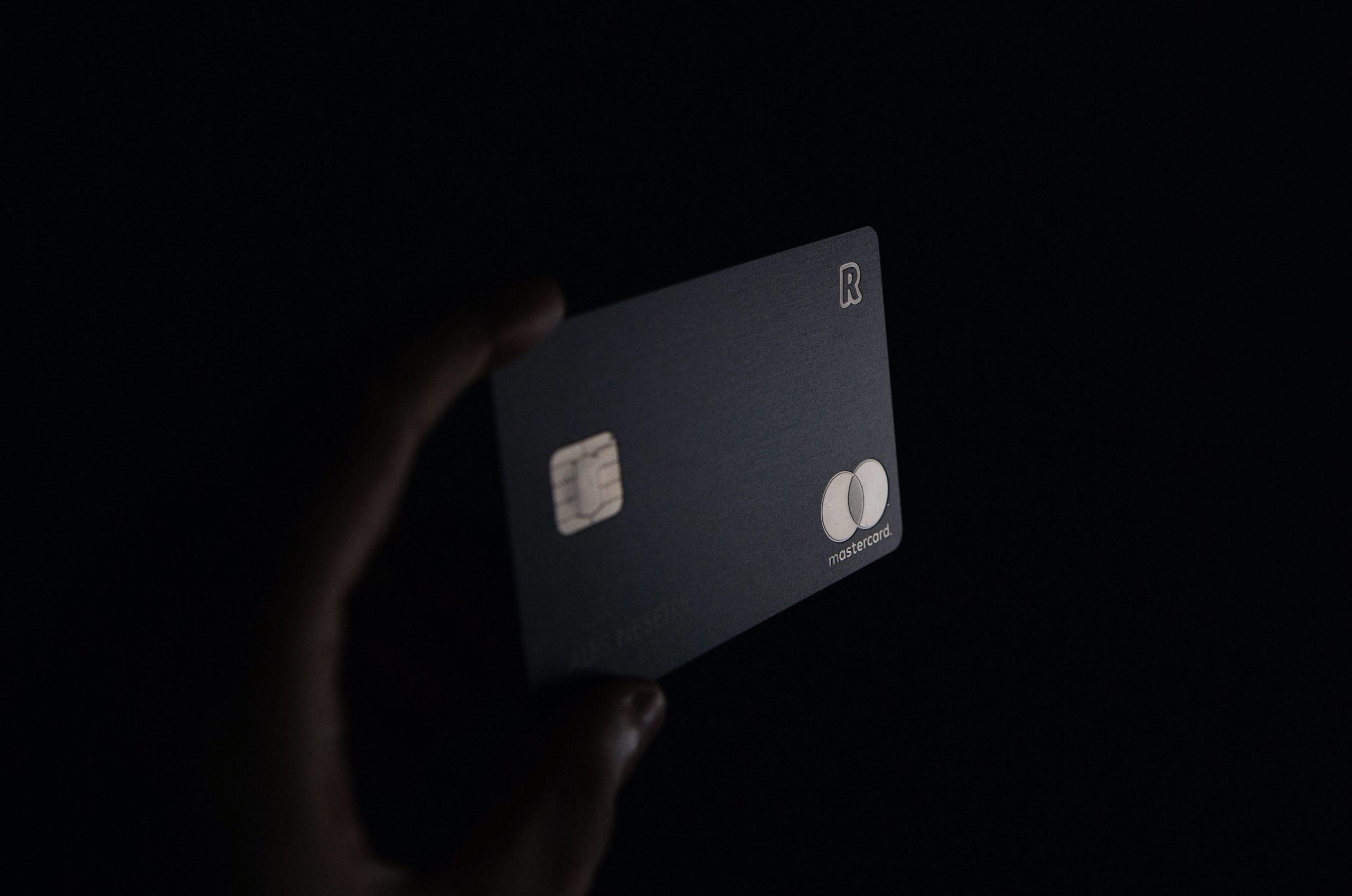 carte de crédit en PETE